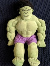 "Incredible Hulk Marvel Avengers Jay Franco Plush Stuffed Animal Comic 26"" Large - $12.99"