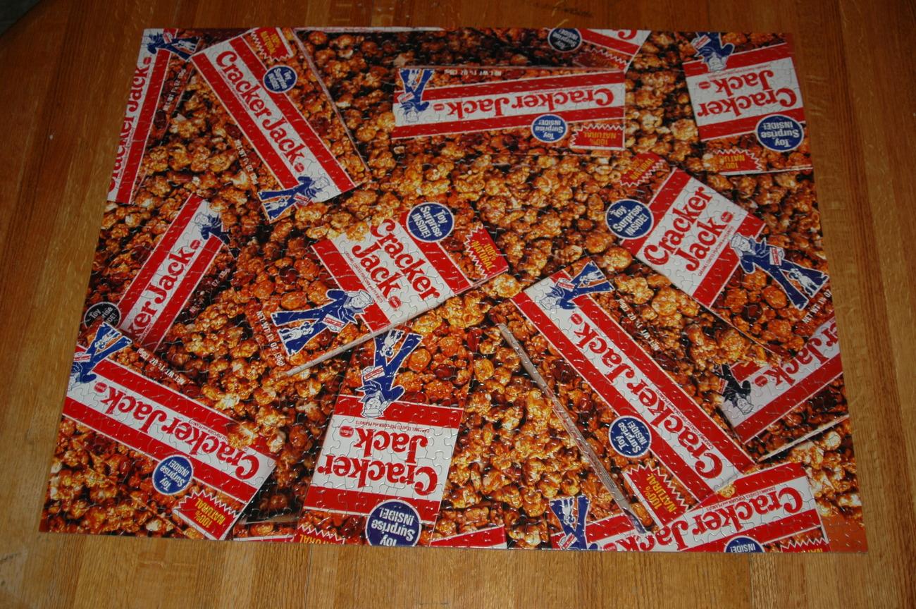Cracker Jacks 1000 Piece Springbok Puzzle Complete