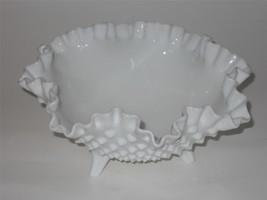 Vintage Fenton ~ Milk Glass ~ Hobnail ~ 3 Toed ... - $19.95