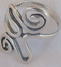 Arti silver ring
