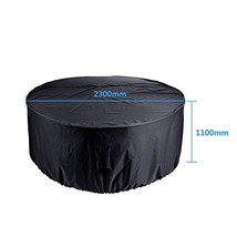 Garden Patio Furniture Cover Waterproof Rectangular Round Outdoor Rattan... - $32.53