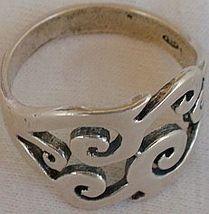Mefutal silver ring - $16.00