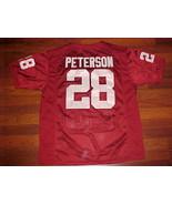 Nike NCAA Big 12 Oklahoma Sooners Adrian Peterson #28 Crimson Football J... - $79.19