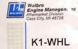Genuine Walbro Whl Carburetor Repair Kit K1 Whl - $17.90