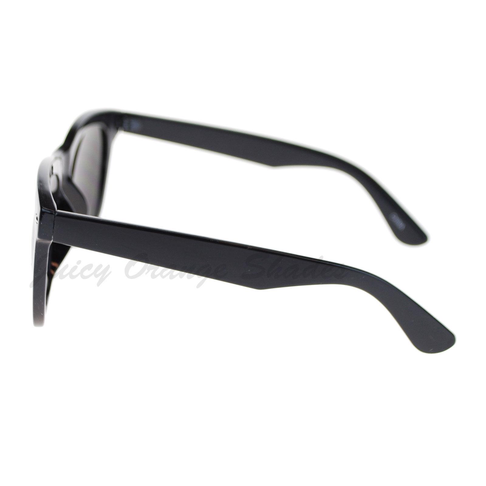 Black Square Frame Sunglasses Oversized Designer Fashion Shades