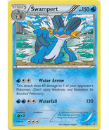 Swampert 35/160 Rare Primal Clash Pokemon Card - $0.99