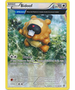 Bidoof 117/160 Uncommon Primal Clash Pokemon Card - $0.49