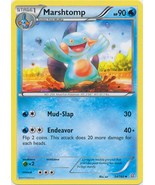Marshtomp 34/160 Uncommon Primal Clash Pokemon Card - $0.49