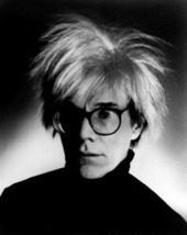 Andy Warhol Pop Art Icon Vintage 11X14 BW Memorabilia Photo - $12.95
