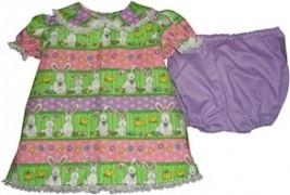 Preemie & Newborn Girls Bunnies Dress and Panties  - $26.00