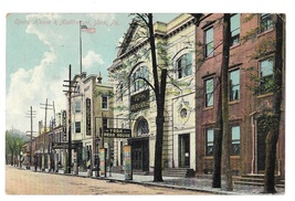 York PA Opera House and Vaudeville Auditorium 1909 Vtg Postcard Made in ... - $7.79