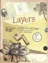 Layers:Inspired Collage for Paper Projects With Meaning-Shari Carroll;25... - $11.99