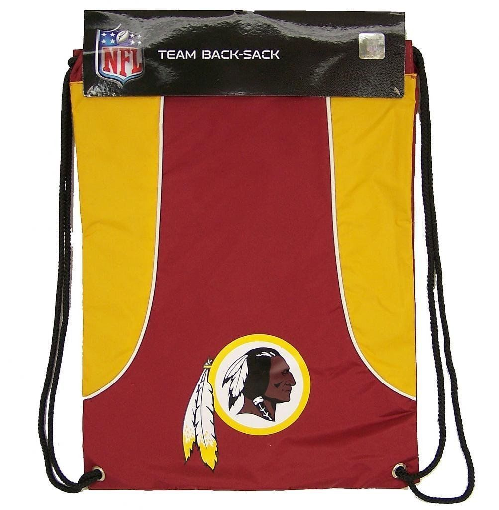 WASHINGTON REDSKINS BACK SACK PACK SCHOOL GYM BAG NFL FOOTBALL