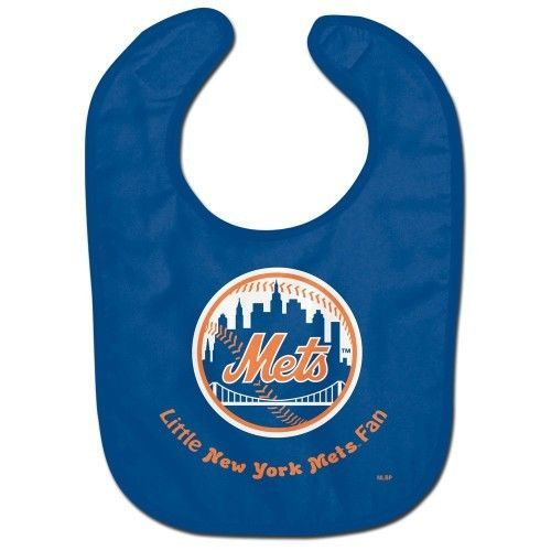 NEW YORK METS ALL PRO BABY BIB VELCRO CLOSURE TEAM LOGO MLB BASEBALL