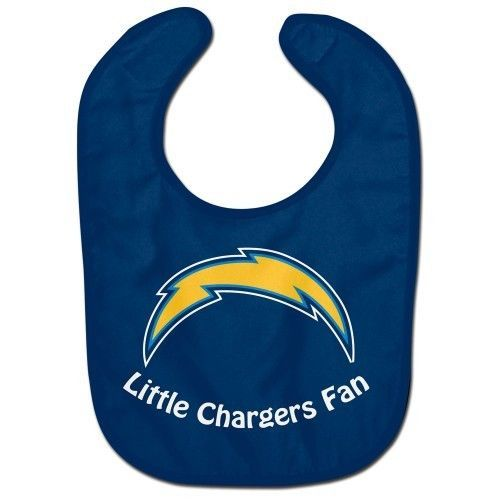SAN DIEGO CHARGERS ALL PRO BABY BIB VELCRO CLOSURE TEAM LOGO NFL FOOTBALL