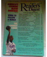 """Readers Digest Magazine May 1994 - """"When to follow a hunch"""" - $4.50"""