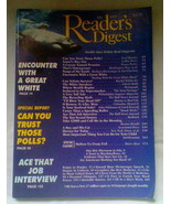 """Readers Digest Magazine - July 1995 - """"Songs of the South"""" - $4.50"""