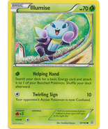 Illumise 18/160 Common Primal Clash Pokemon Card - $0.49