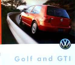 2000 Volkswagen GOLF sales brochure catalog US 00 VW GTI VR6 - $9.00