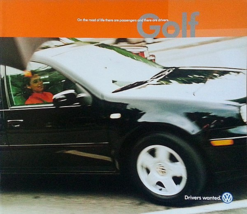 2001 Volkswagen GOLF sales brochure catalog US 01 VW GL GLS - $9.00
