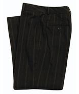 Womens Size 4 Black Stripe Cropped Dress Pants - $9.99