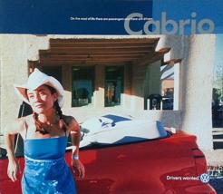 2001 Volkswagen CABRIO sales brochure catalog US 01 VW Cabriolet - $9.00