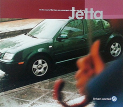 2001 Volkswagen JETTA sales brochure catalog US 01 VW GLS GLX VR6 TDI - $8.00