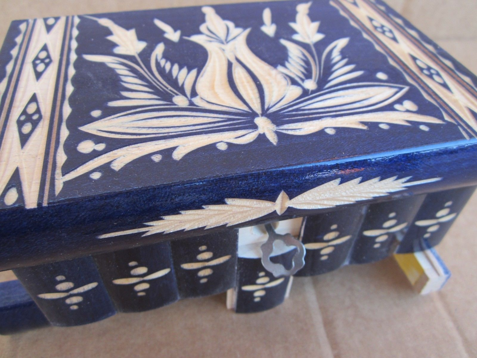 Transylvanian Highlander Puzzle Trick Box Brain Teaser ...