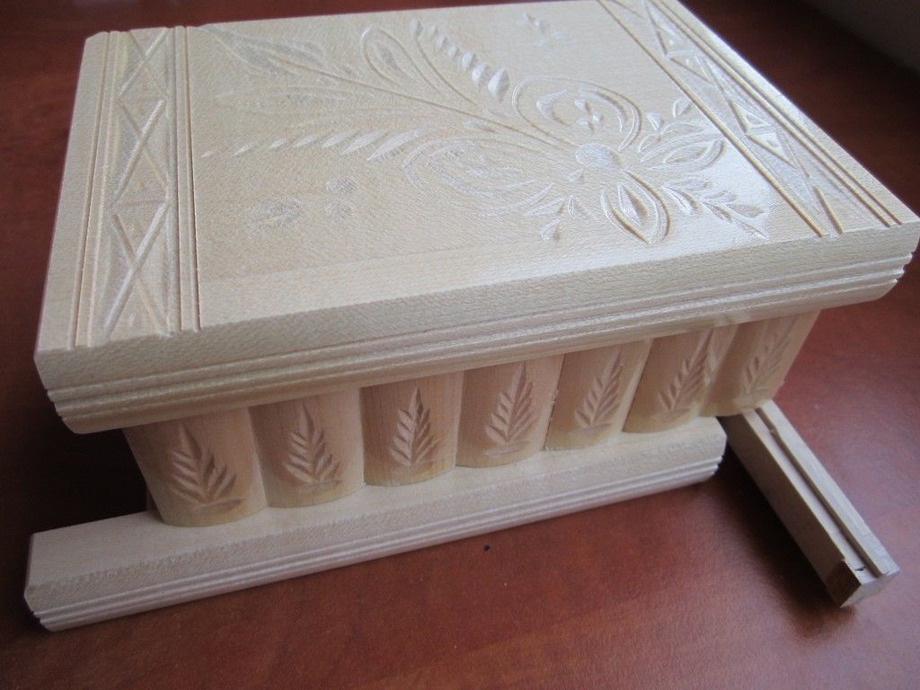 Wooden Puzzle Jewelry Box with Secret and 50 similar items