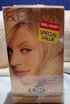 Sealed Twin Pack Revlon ColorSilk Hair Dye Golden Silk 71 Ammonia Free - $10.88
