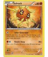 Solrock 83/160 Common Primal Clash Pokemon Card - $0.49