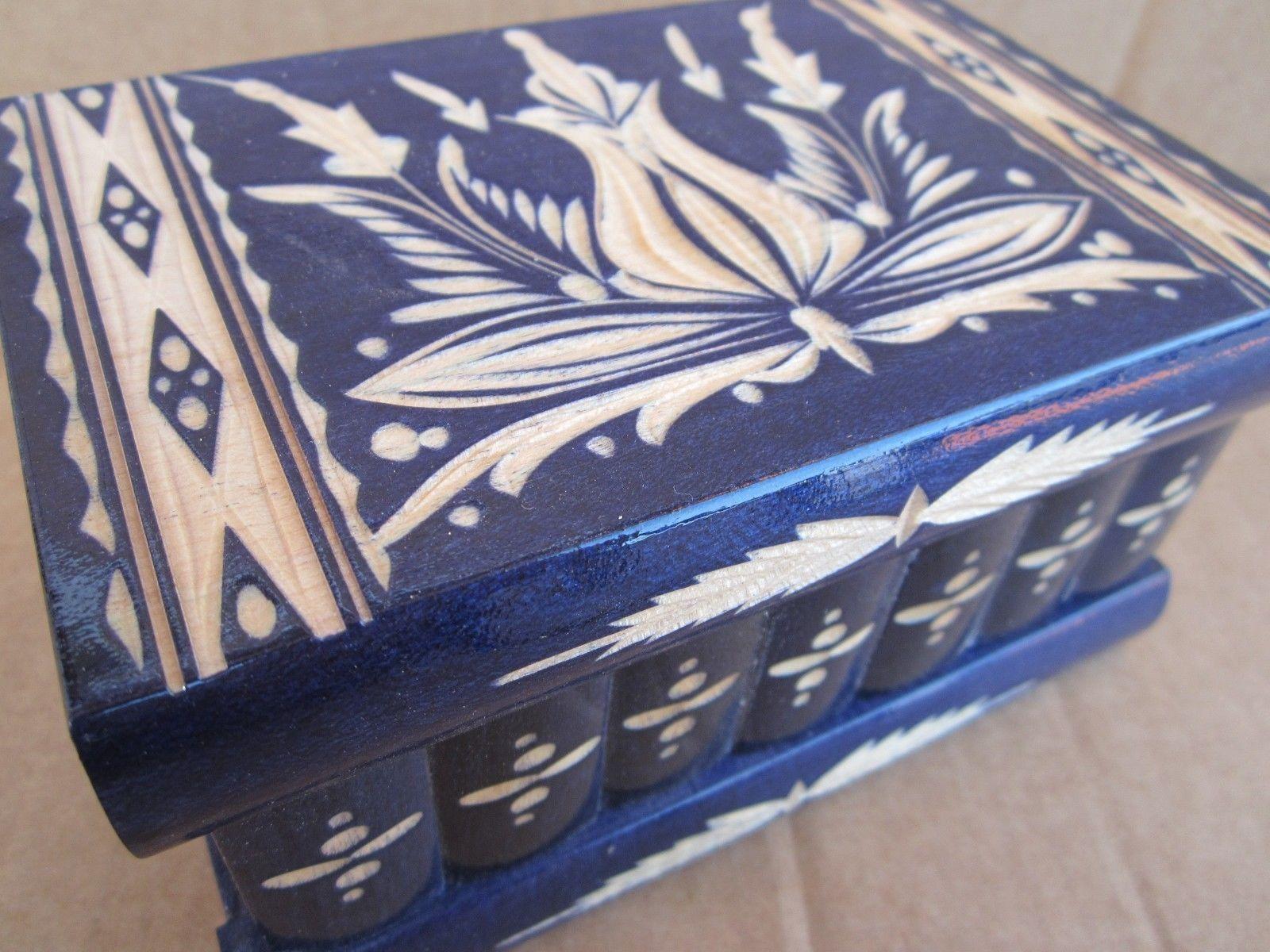 Transylvanian Highlander Puzzle Trick Box and 21 similar items