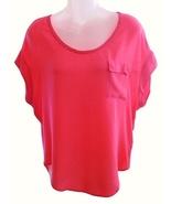 Splendid Size XS Womens Pink Dolman Sleeve Top - $49.99
