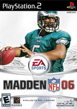 Madden 06 (Playstation 2, PS2) COMPLETE - $1.39
