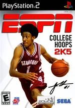 ESPN College Hoops 2K5 (Playstation 2, PS2) COMPLETE - $1.89