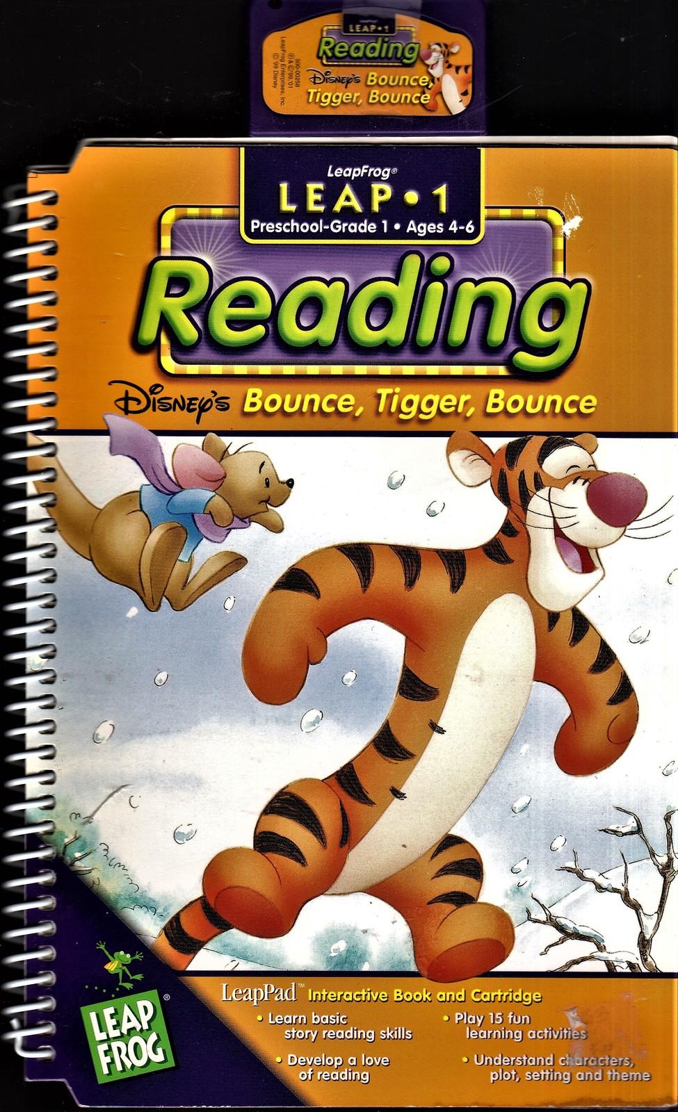 """LeapFrog Leap 1 - Reading """"Disney's Bounce, Tigger, Bounce"""""""