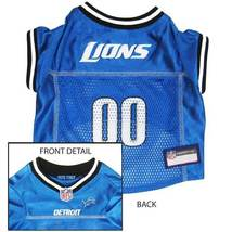 Detroit Lions Dog Jersey MEDIUM * Blue Home Game Colors NFL Football Pet... - €21,87 EUR