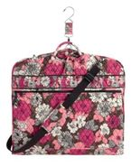 NWT Vera Bradley Garment Bag in Mocha Rouge - $95.99