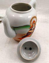 "Dragon Ware Tea Pot ""Mepoco Ware"" Japanese w/ creamer no lid image 8"
