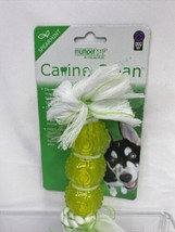 Multipet Canine Clean Rope 3 TPR Balls Spearmint Chew Dogs Toys Tartar D... - £3.53 GBP