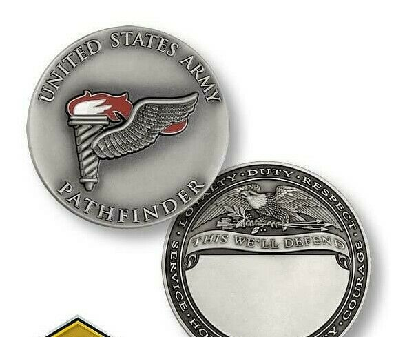 "Primary image for ARMY PATHFINDER 1.75"" CHALLENGE COIN"