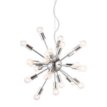 Zuo Pulsar Ceiling Lamp Chrome - $520.00