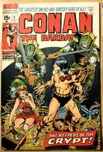 Conan The Barbarian# 8 Aug 1971 Jenna 1st Captain Burgun B Smith Art: 9.2 NM- - $105.00