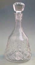 Lenox crystal Cut glass Chareston decanter Made in USA Mt Pleasant PA  blown - $36.12