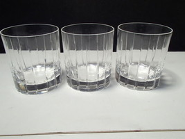 3 RCR Timless Double Old Fashions~~~~unknown pattern~~Royal Crystal Rock - $19.99