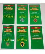 Citadel Collectors Guides SET OF 6 Dwarfs Empire Skaven Warhammer Elves ... - $17.82