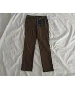 Charter Club Women's Lexington Straight Tummy Slimming Autumn Sage Green... - $33.66