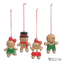 Dressed Up Gingerbread Ornaments - $30.25