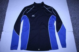 Women's Mizuno S Jacket (Black/Royal Blue) Mizuno - $18.49