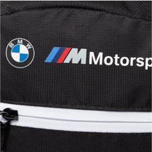 Puma BMW M Motorsport LS Logo Portable Unisex Flight Travel Shoulder Bag image 9